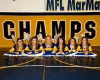 MFL MarMac Wrestling Cheerleaders