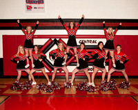 Central Basketball Cheerleaders