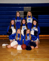 West Central Basketball Cheerleading