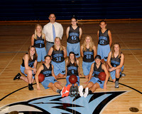 North Fayette Valley MS Girls Basketball